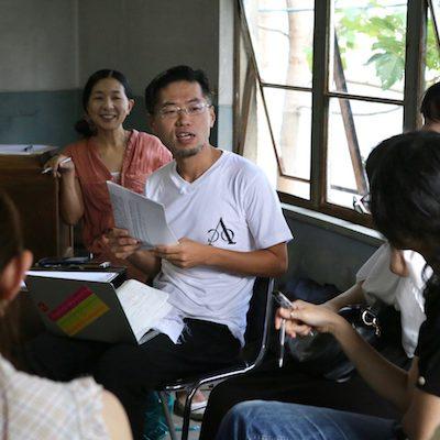 mamoru, co-director of School-in-Progress